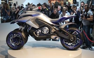 En direct d'Intermot – Yamaha 01Gen Concept : une folie?
