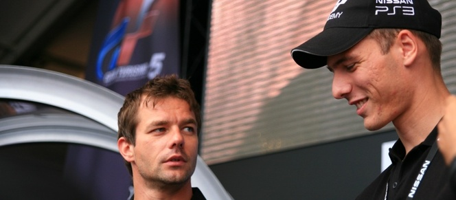 Sébastien Loeb vs Jordan Tresson duel au mans sur GT5