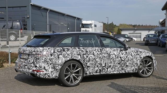 Audi : la nouvelle RS4 se prépare