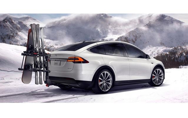 Le Tesla Model X au rappel aux USA