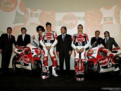 GP250 - Aprilia: Les motos de Pépé ont été présentées