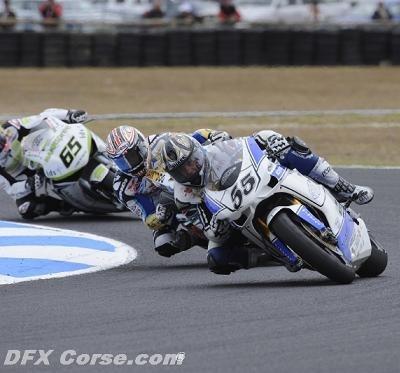 Superbike - Laconi: Un week-end à problèmes mais des points quand même