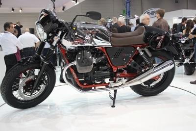 En direct d'Intermot - Moto Guzzi V7 II : modernité dans la continuité