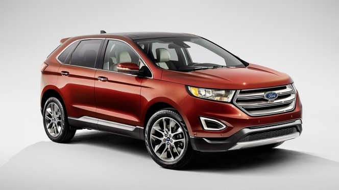 Salon de Paris 2014 - Ford Edge : super Kuga