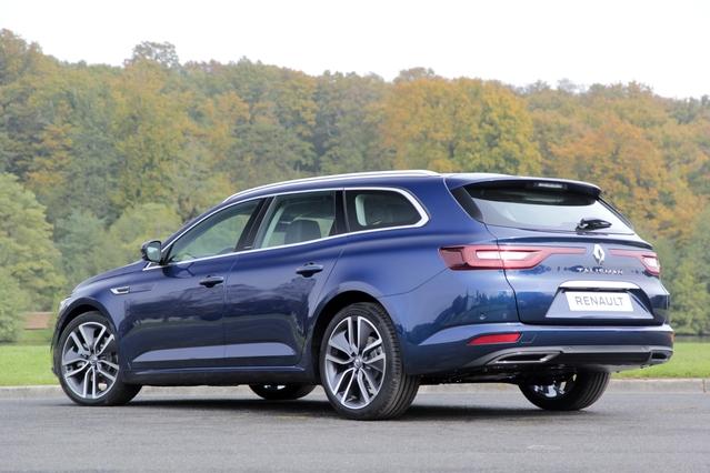 Première vidéo Renault Talisman Estate : découvrez les premières images de l'essai en Live