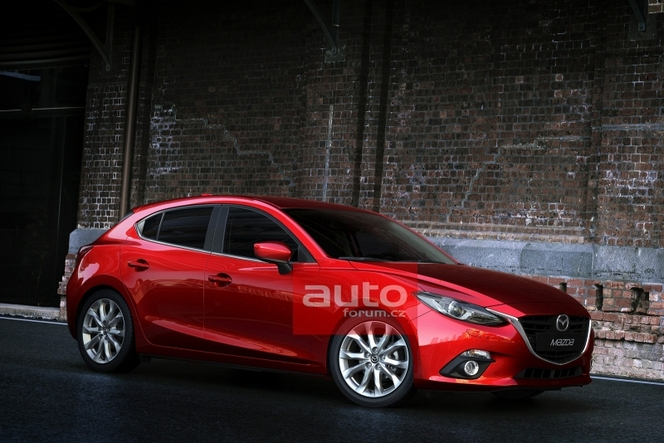 nouvelle mazda3 les photos s 39 chappent avant la pr sentation officielle. Black Bedroom Furniture Sets. Home Design Ideas