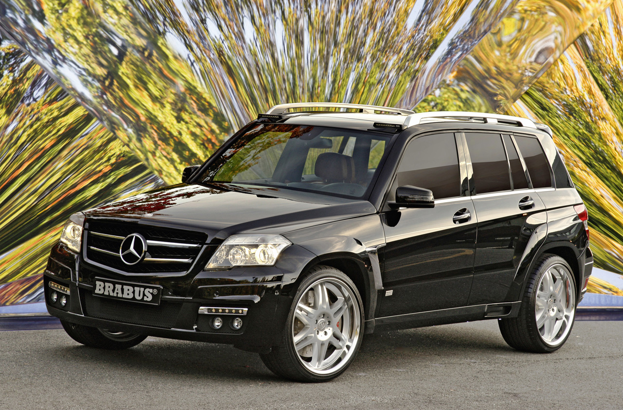 sema show mercedes glk en folie. Black Bedroom Furniture Sets. Home Design Ideas