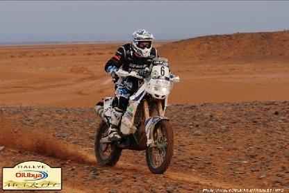 Rallye du Maroc : 5ème étape, Cyril Despres se reprend