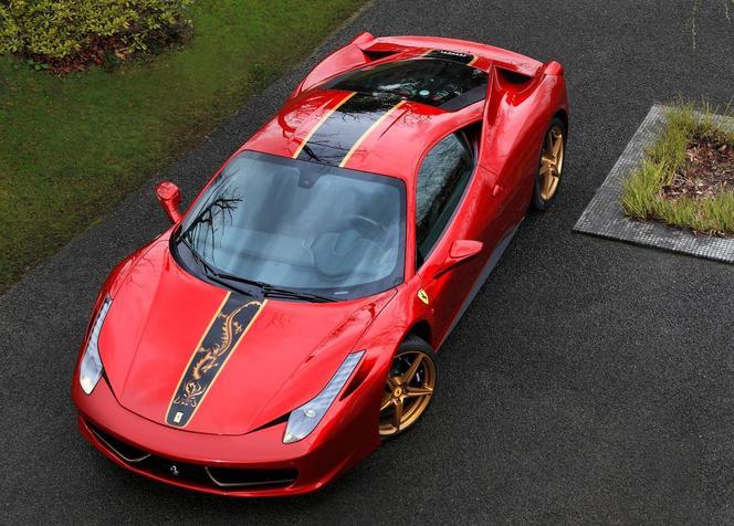 Ferrari - Une 458 pour célébrer 20 ans de présence en Chine