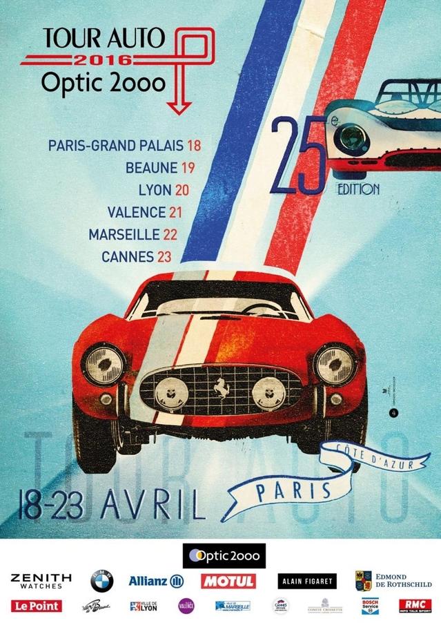 Tour Auto 2016 - Premières vidéos depuis le Grand Palais lundi 18, à la veille du départ