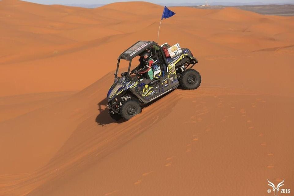 Interview /Rallye des Gazelles 2016 : l'équipage d'un Yamaha Wolverine raconte leur aventure