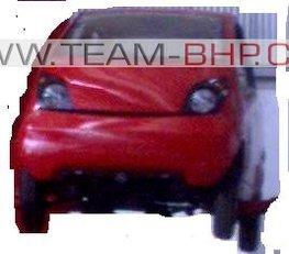 Tata Rs 1 lakh Car: premières images.