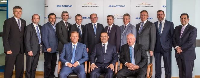 Carlos Ghosn devient Président du Conseil d'Administration d'Avtovaz