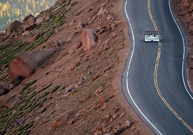 J - 3 Pikes Peak 2013 :  Romain Dumas joue sa carte à fond (vidéo)
