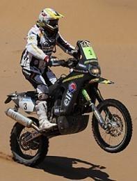 Dakar 2010 : 5ème étape, Casteu blessé et geste incroyable de Luca Manca