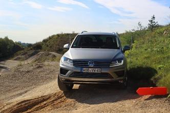 Volkswagen Touareg restylé : en avant-première, les photos de l'essai