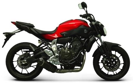 Termignoni: une ligne pour la Yamaha MT-07