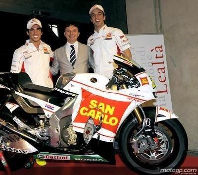 Moto GP - Honda: Gresini défie la crise
