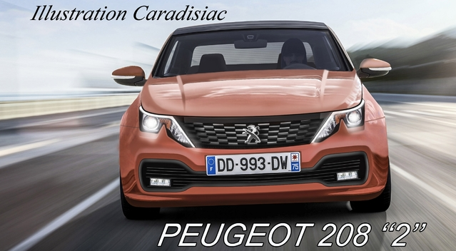 Peugeot 208: du changement en 2018