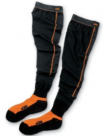 Knee Brace Socks, pour les pieds oranges.