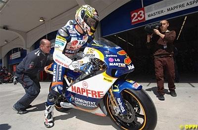 Moto GP: Aspar Martinez s'y prépare