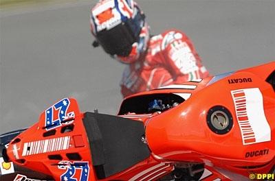 Moto GP: Ducati vogue vers la Chine le coeur léger