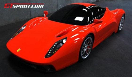 Est-ce la nouvelle Ferrari F70, successeur de l'Enzo ?