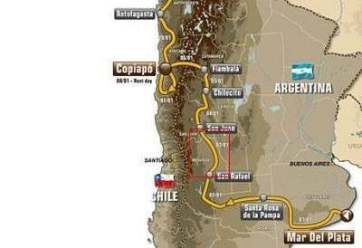 Dakar 2012 : Etape 3, un  parcours avec des hauts et des bas