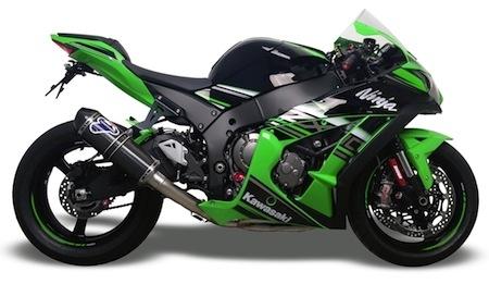 Termignoni: ligne Racing pour Kawasaki ZX-10R (2016)