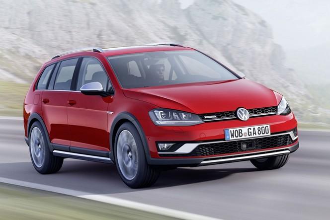 Mondial 2014 : Volkswagen Golf Alltrack, un Allroad de plus