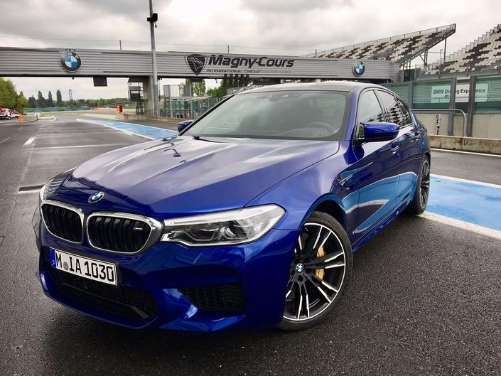 BMW M5 2018 - Les premières images de l'essai en direct + Premières impressions