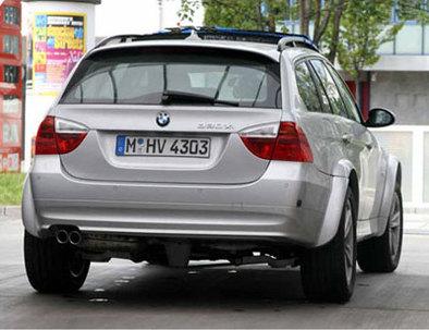 Que cache ce mulet BMW ?