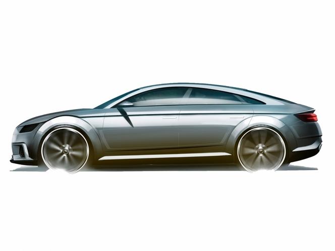 Mondial de Paris 2014 - Audi TT Sportback Concept: surprise parisienne