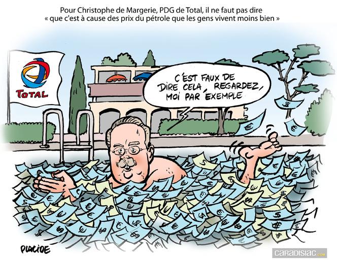 Le dessin du jour - Christophe de Margerie : «Vous ne viendrez plus chez moi par hasard»