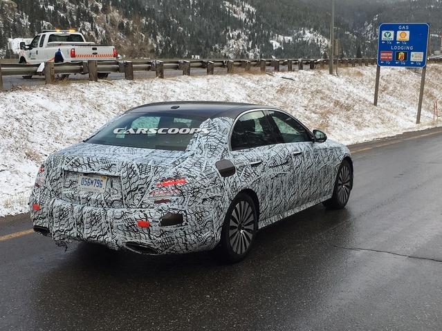 Surprise : une nouvelle Mercedes Classe E se prépare