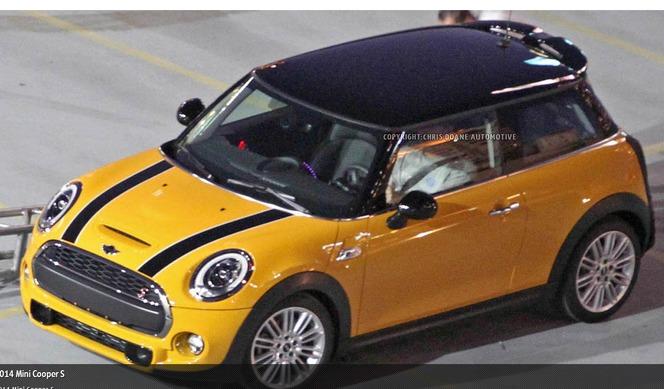 Surprise : voici la nouvelle Mini Cooper S !