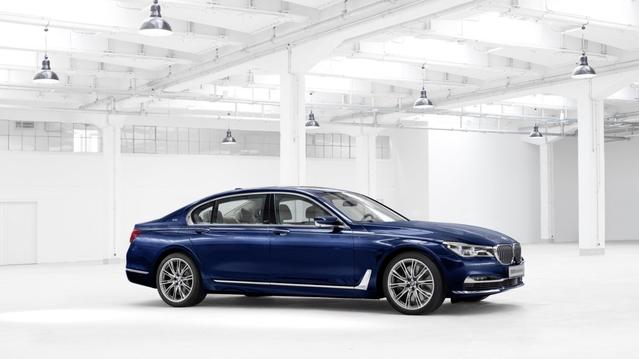 BMW Série 7 : une série spéciale pour les 100 ans de la marque
