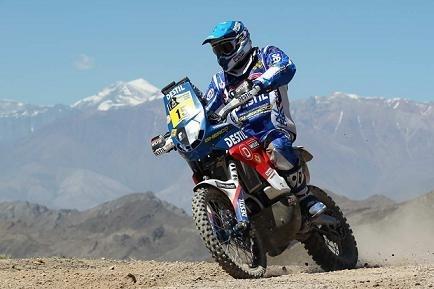 Dakar 2012 : Etape 3, Verhoeven second sur la Sherco