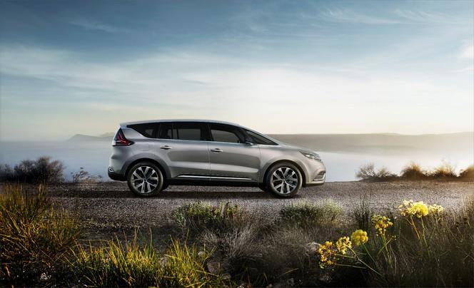 Mondial 2014 : premières images du nouveau Renault Espace