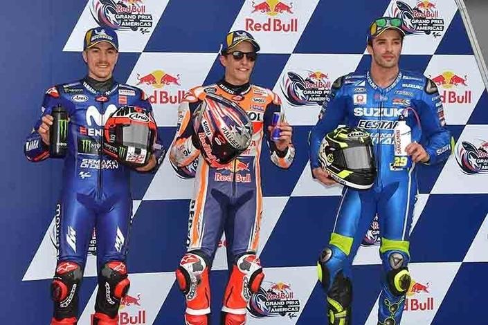 MotoGP - Austin J.2: Márquez prend sa sanction avec humour