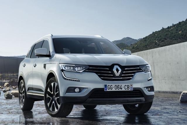Renault dévoile la première image du nouveau Koleos