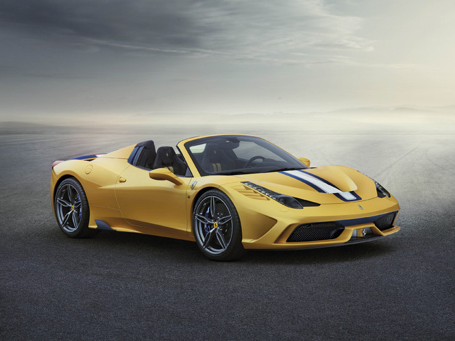 Mondial de Paris 2014 : Voici la Ferrari 458 Speciale A