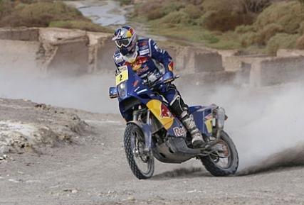 Dakar 2010 : 7ème étape, victoire de Despres et Coma montré du doigt