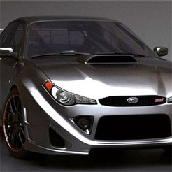 Subaru Impreza STi...c'était vrai.
