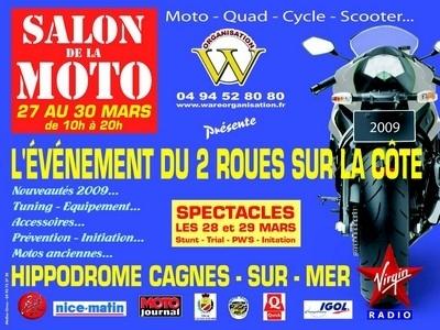 14ème salon de la moto de Cagnes sur Mer.