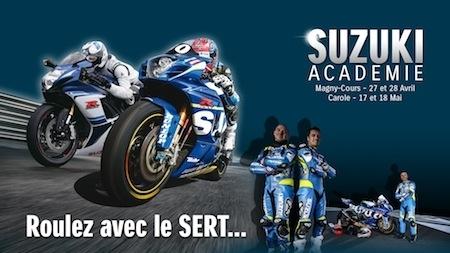 Suzuki Académie : direction le circuit Carole les 17 et 18 mai 2016