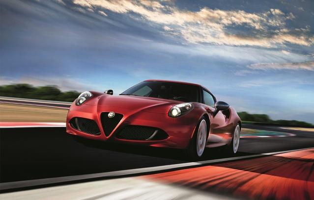Alfa Romeo : la 4C en Limited Edition