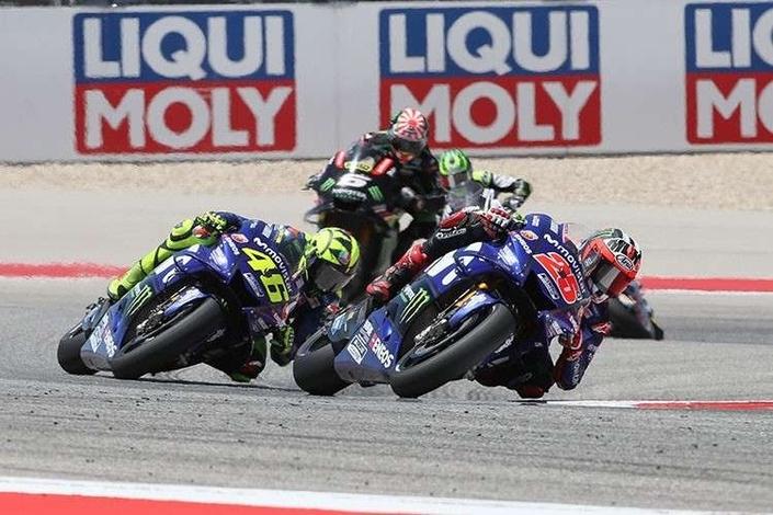 MotoGP - Austin J.3: Rossi privé de podium