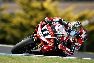 """Superbike: Corser: """"Je ne vise pas le titre cette année"""""""