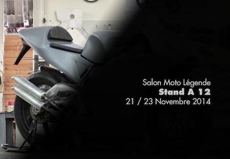 Une nouvelle 500 V3 au salon Moto Legende